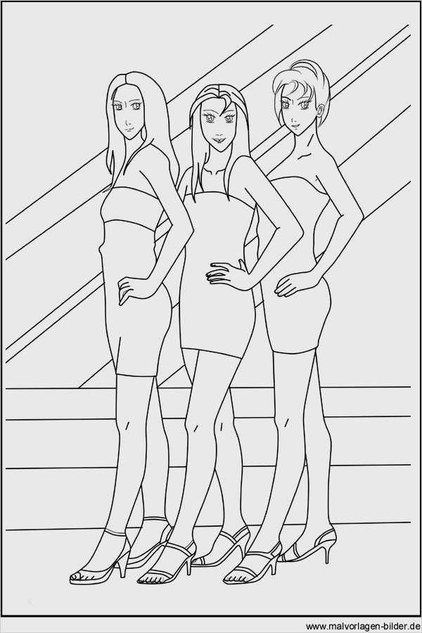 Ausmalbilder Zum Ausdrucken Topmodel - x13 ein Bild zeichnen