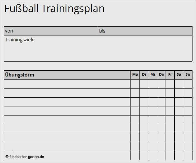Trainingsplan Vorlage Krafttraining It Turnaround 9
