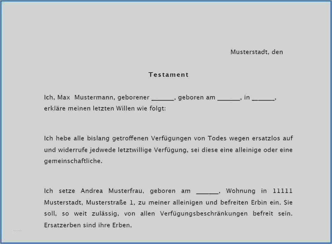 Berliner Testament Vordruck 2021
