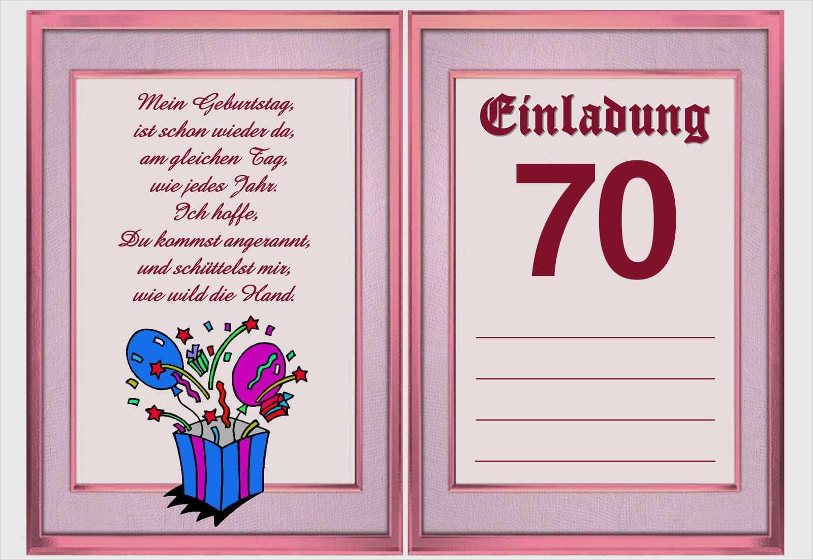Einladung 50 Geburtstag Vorlagen Word Einladung 2