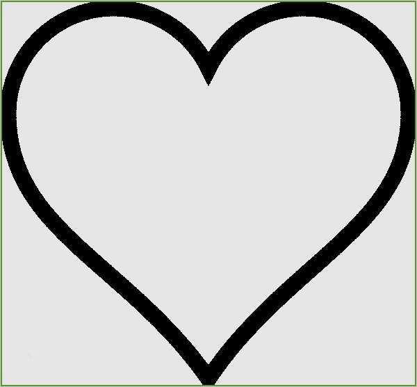 Herz vorlage 50 Einzahl