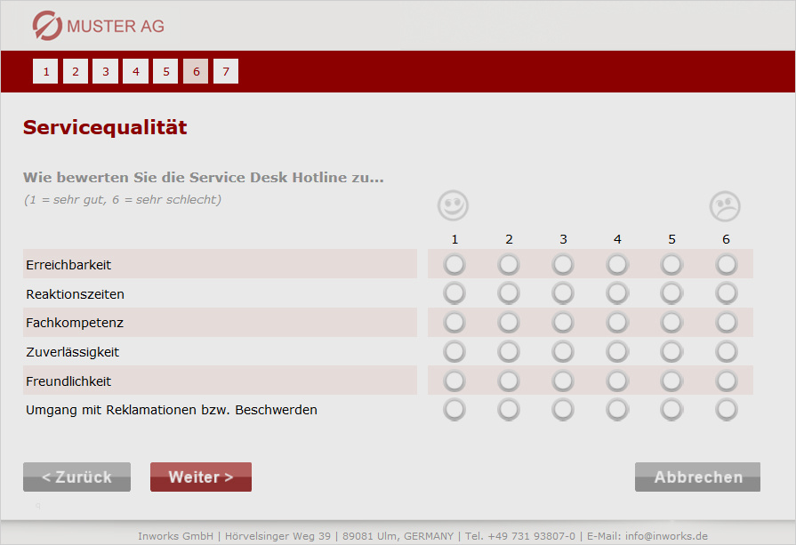 Kundenzufriedenheit Fragebogen Beispiel Essay
