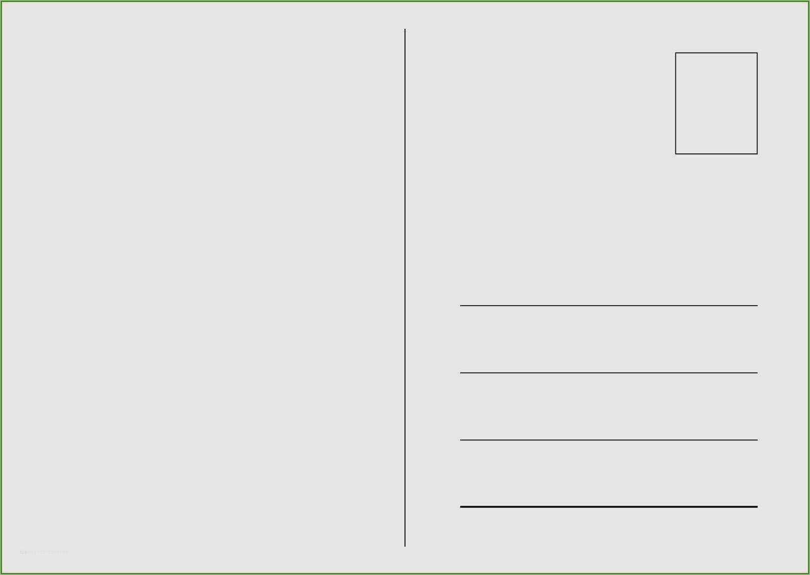 18 Suss Postkarte Ruckseite Vorlage Sie Konnen 4