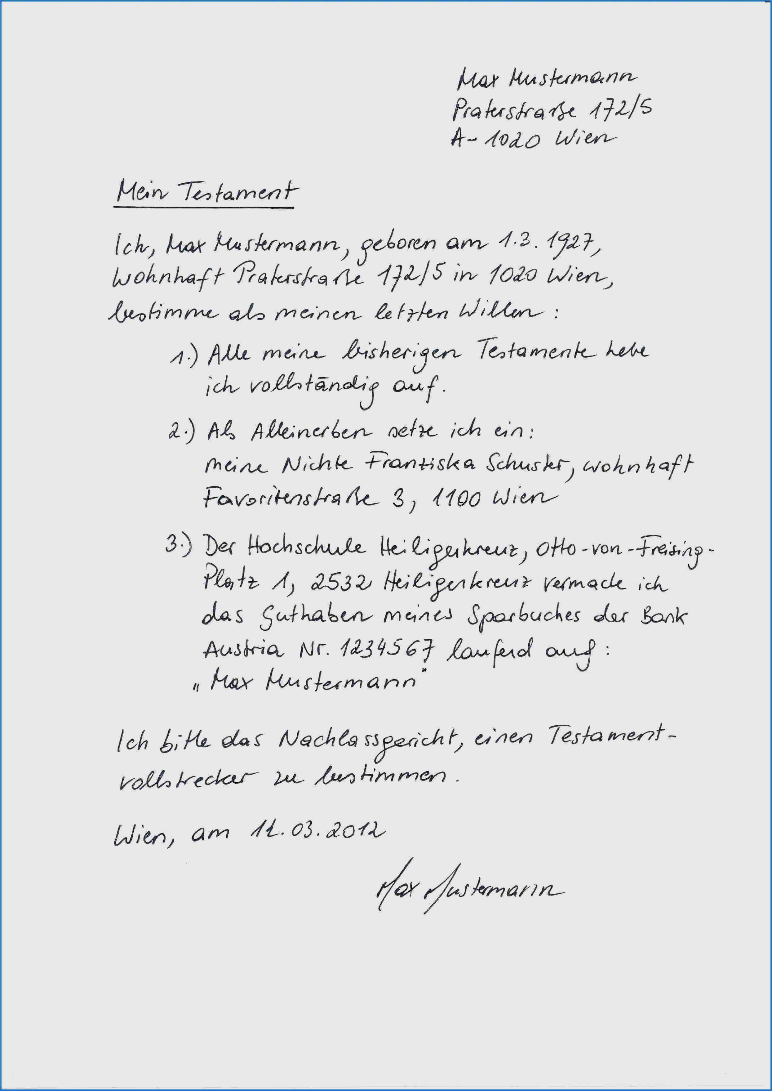 36 Sensationell Berliner Testament Vorlage Pdf | …