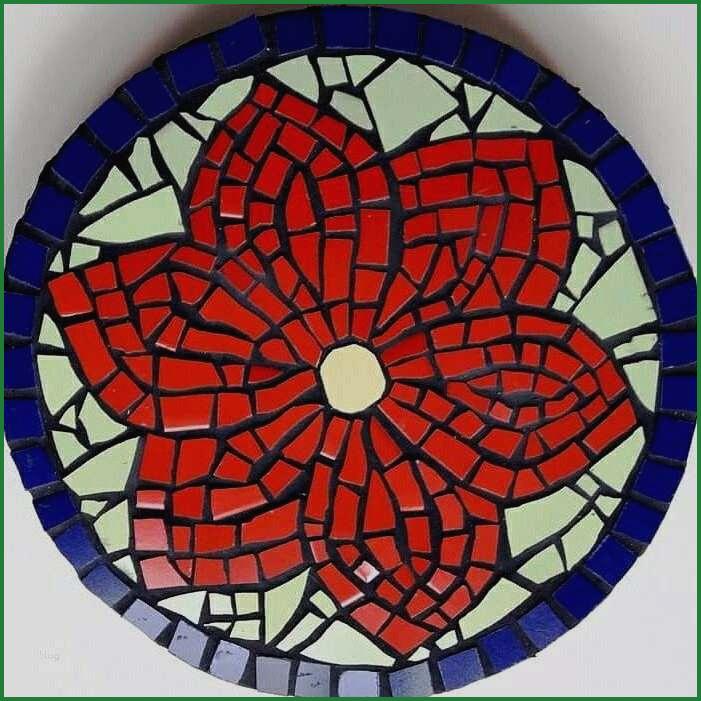 Mosaik Vorlagen Blumen 30 30x30cm Amazon De Kuche Haushalt