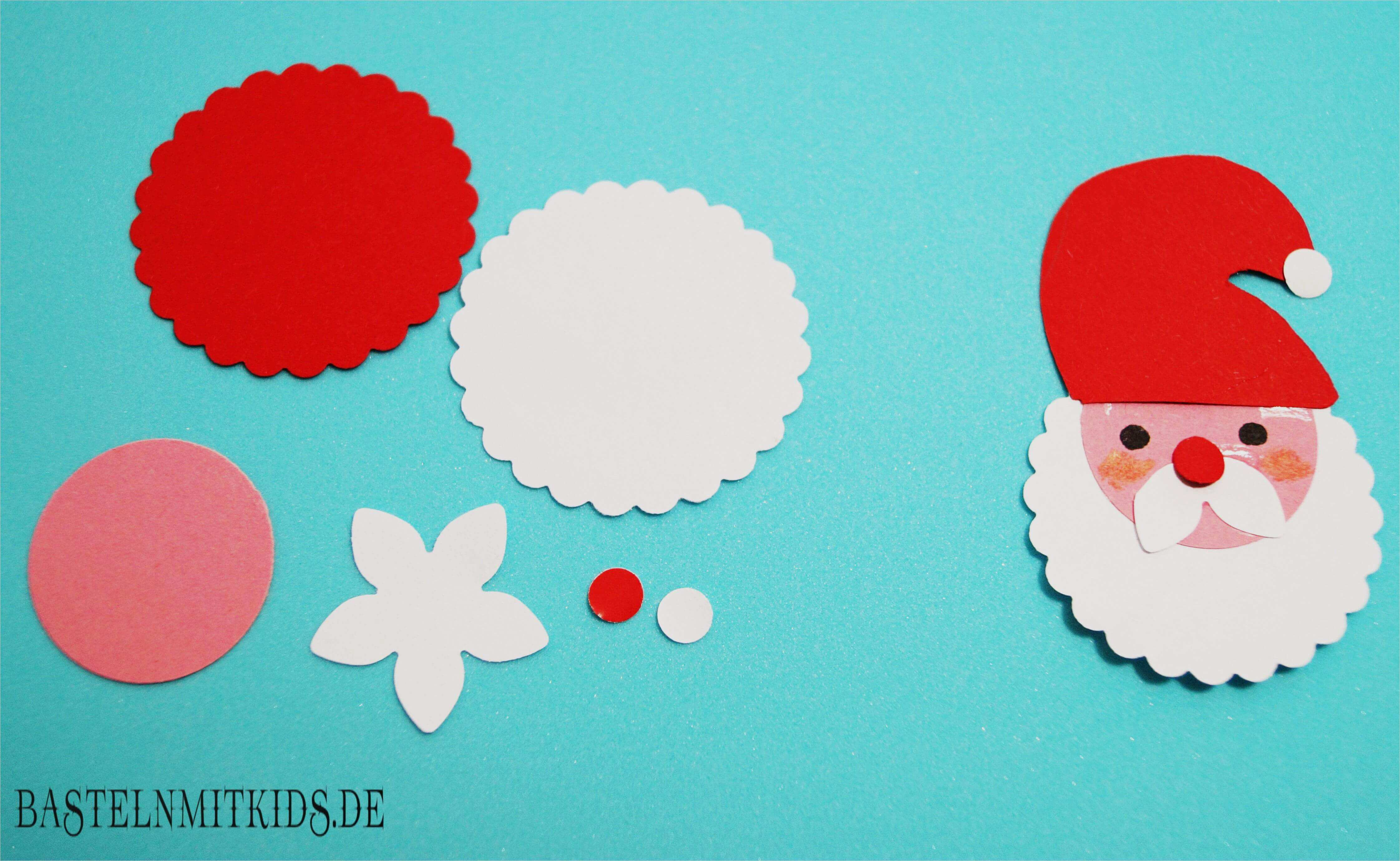 Vorlage Weihnachtsmann Kreativ Blog