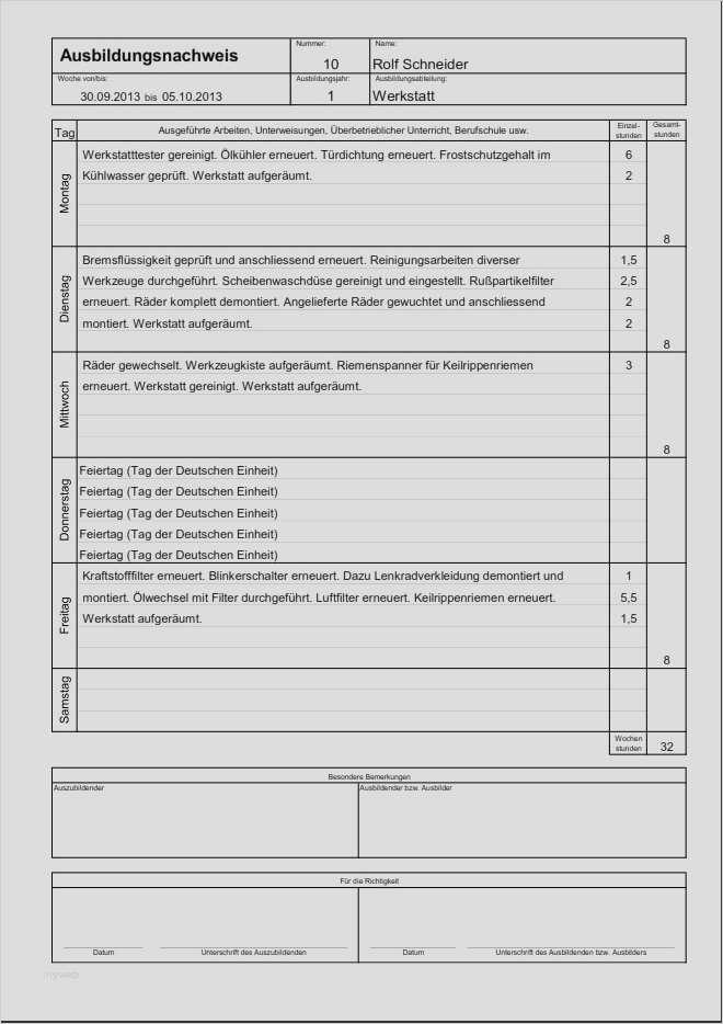Berichtshefte Online Ausfullen Elektro Net 6
