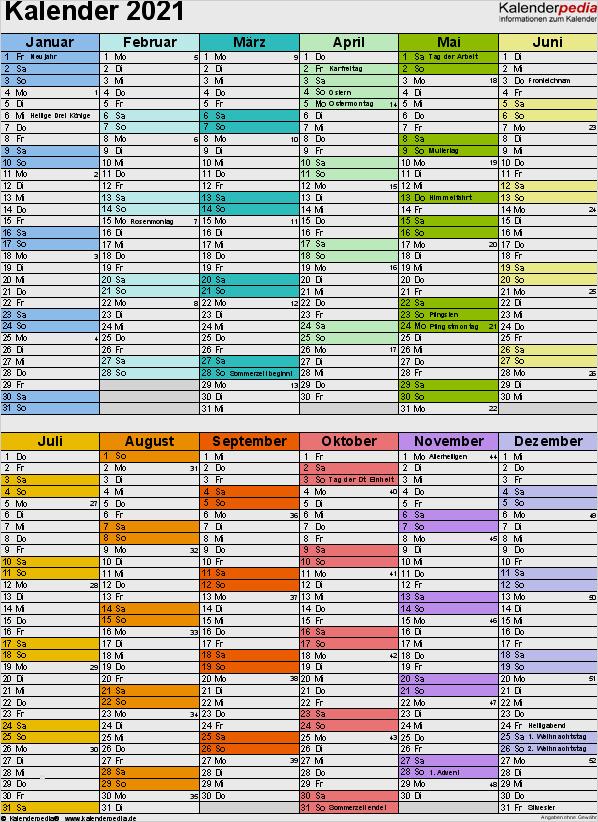 Word Kalender Vorlage Beste Kalender 2021 Word Zum ...