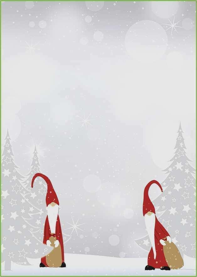 Word Vorlage Weihnachten Briefpapier Briefpapier