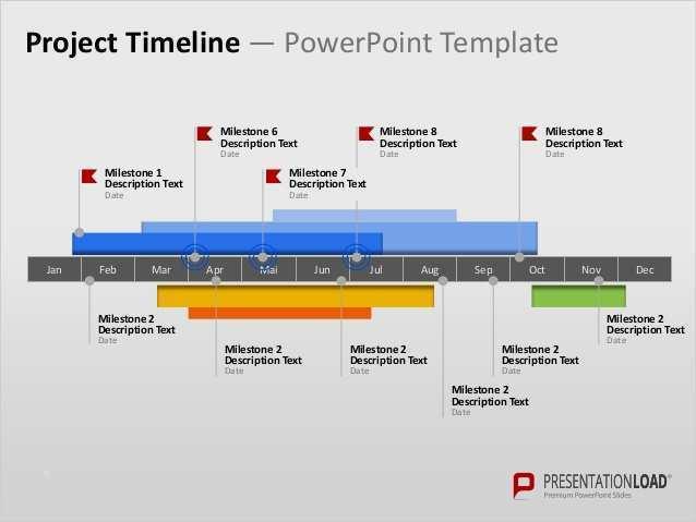 Presentationload Roadmapping Powerpoint Vorlagen